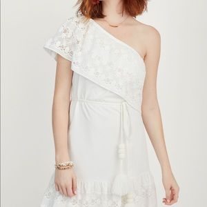 Stella&dot Cora one shoulder dress.  M, L